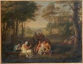 Scuola di Platone PIETRO BENVENUTI 1809CIRCA