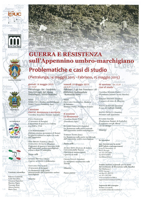 convegno Pietralunga - Fabriano